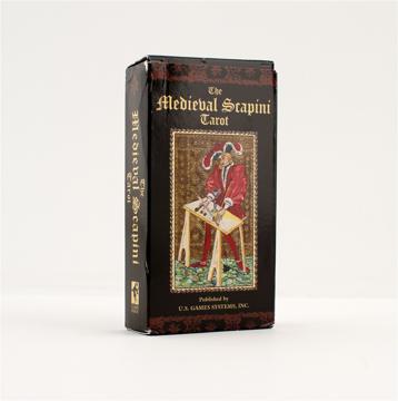 Bild på The Medieval Scapini Tarot Deck