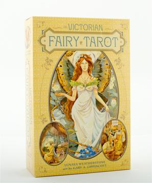 Bild på The Victorian Fairy Tarot (Boxed Kit)