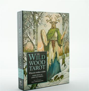 Bild på The Wildwood Tarot : Wherein Wisdom Resides [With Booklet]