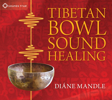 Bild på Tibetan bowl sound healing - natural therapeutic sound for attuning to stil