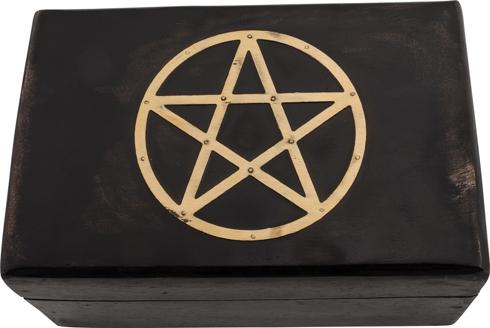 Bild på Träask: pentagram