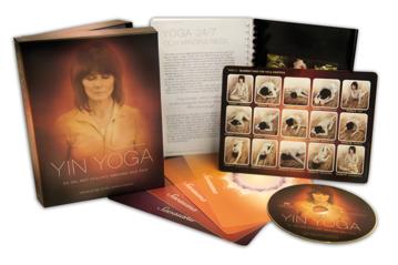 Bild på Yin yoga-box