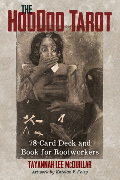 Bild på Hoodoo Tarot : 78-Card Deck and Book for Rootworkers