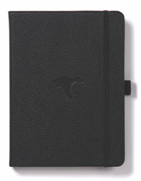 Bild på Dingbats* Wildlife A5+ Black Duck Notebook - Plain