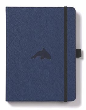 Bild på Dingbats* Wildlife A5+ Blue Whale Notebook - Graph