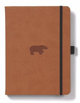 Bild på Dingbats* Wildlife A5+ Brown Bear Notebook - Lined