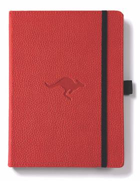 Bild på Dingbats* Wildlife A5+ Red Kangaroo Notebook - Plain
