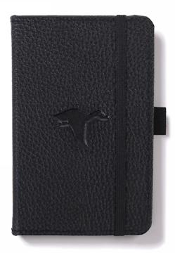 Bild på Dingbats* Wildlife A6 Pocket Black Duck Notebook - Plain