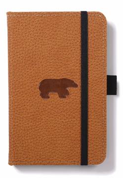 Bild på Dingbats* Wildlife A6 Pocket Brown Bear Notebook - Graph