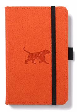 Bild på Dingbats* Wildlife A6 Pocket Orange Tiger Notebook - Lined