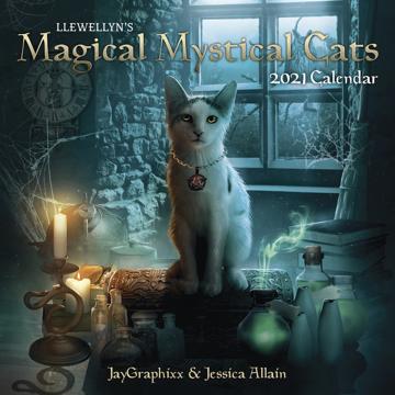 Bild på Llewellyn's 2021 Magical Mystical Cats Calen