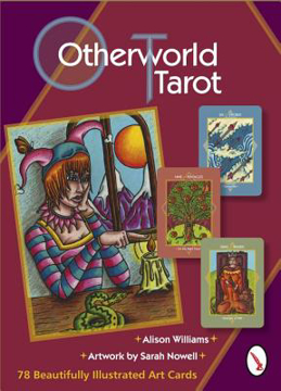 Bild på Otherworld Tarot (78-Card Deck & Booklet)