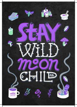Bild på Hocus Pocus Stay Wild Moon Child II
