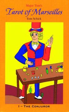 Bild på Major Tom's Tarot Of Marseilles (78 Cards & Instruction Book