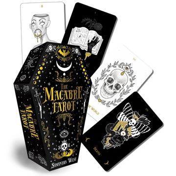 Bild på Macabre Tarot (78-Card Deck & 128-Page Boo