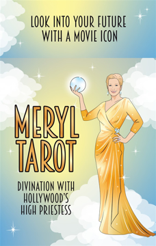 Bild på Meryl Streep Tarot