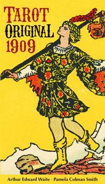 Bild på Tarot original 1909 (kortlek)